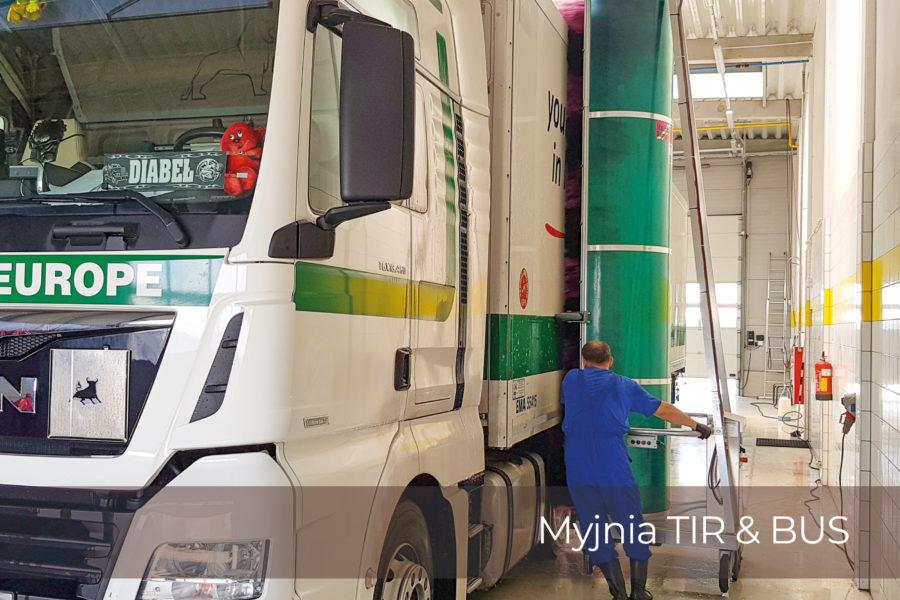 <span>Sevibus</span>Myjnia TIR & BUS