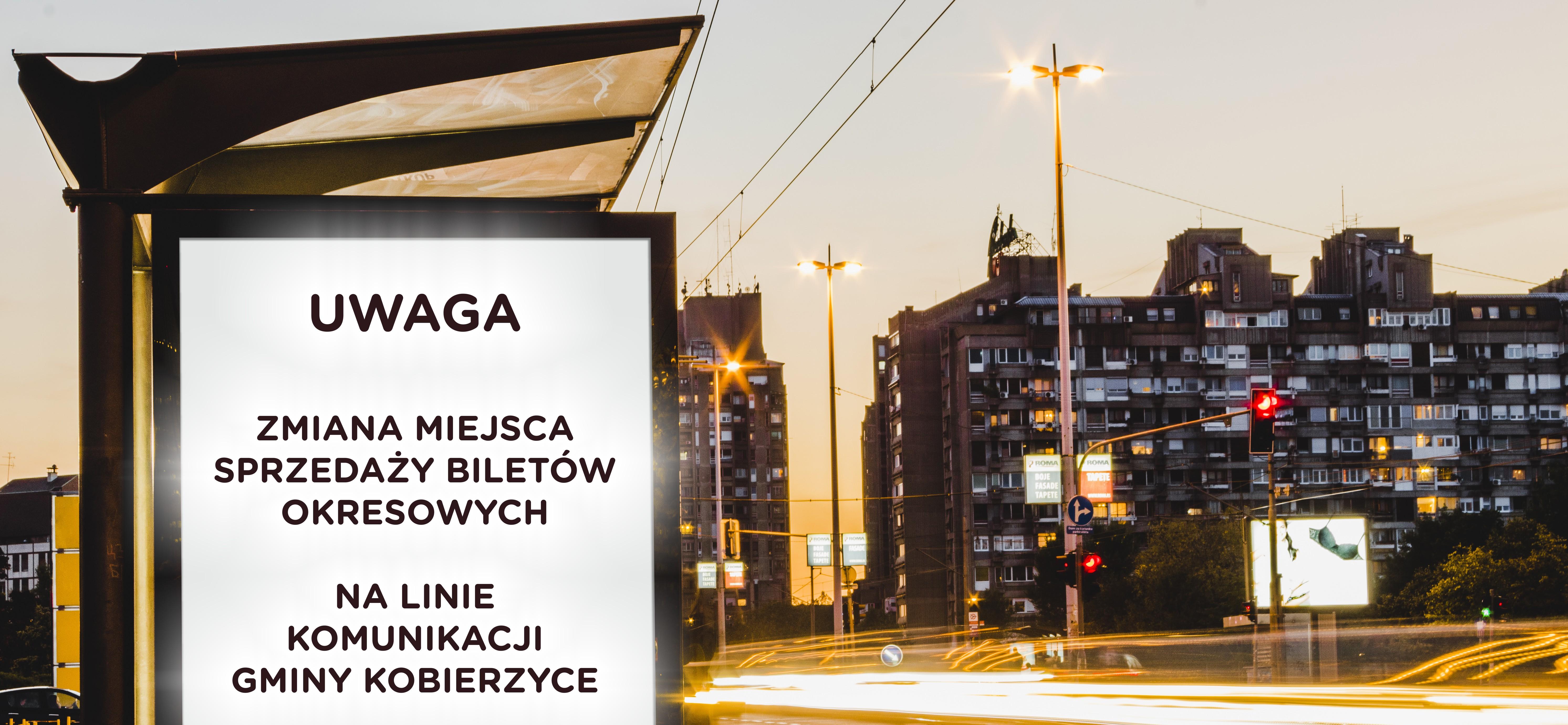Zmiana miejsca sprzedaży biletów okresowych we Wrocławiu.